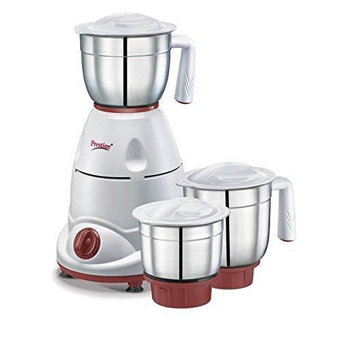 Prestige Tulip Classic (500 Watt) Mixer Grinder with 3 Stainless Steel Jar