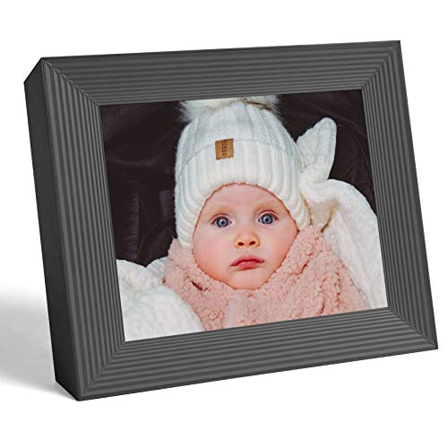 Aura Frames Digital Picture Frame Ultra HD Display - Free Unlimited Cloud Storage - Send 100k...