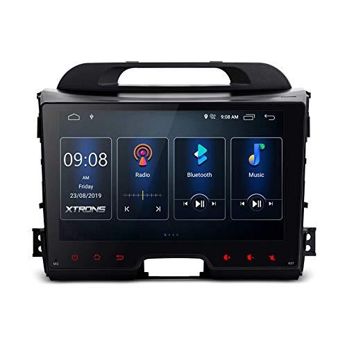 9 pulgadas DSP Android 10.0 Estéreo para automóvil Bluetooth IPS Pantalla táctil Radio automática Navegación GPS Unidad principal en el tablero Soporte Bluetooth RCA completo WiFi DVR DAB + TPMS para