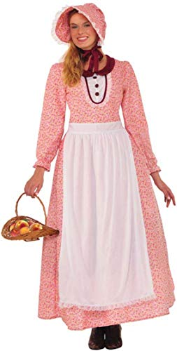 Forum Women's Pioneer Woman Costume, Multi/Color, One Size
