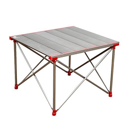 Klapptisch Cqq Portable Einfache und Moderne Outdoor-Picknick-Grill-Tisch Aluminium-Legierung Klappbarer, Küche und Esstisch, Büro, Kinder, Kindertisch Wandtisch