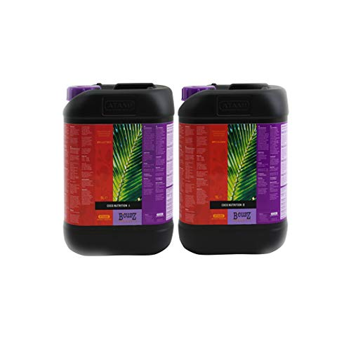 ATAMI B`CUZZ Coco Nutrition A&B (5 litros Bote A+ 5 litros Bote B)