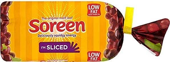 Bundle of 6 Soreen Malt Loaf Sliced Low fat 280g x 6 Packs Expire Jan 2020 Delivers 3-5 Days USA