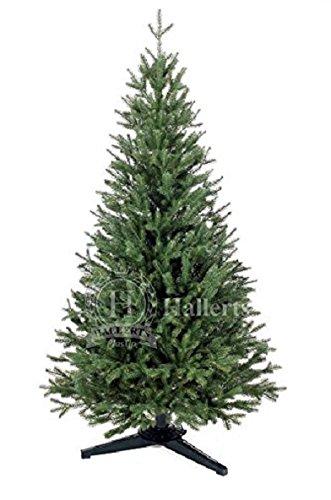 Original Hallerts® Spritzguss Weihnachtsbaum Oxburgh 120 cm als Edeltanne - Christbaum zu 100{a2e832eac22ca3d75fcca66665e6e747b3e3f0947adedaa53666be2a89ce0d63} in Spritzguss PlasTip® Qualität - schwer entflammbar nach B1 Norm