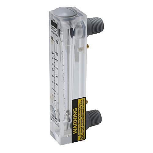 ABS Kunststoff Platte Typ Flüssigkeit Flowmeter Wasser Durchflussmesser Messung werkzeug, mehrfarbig
