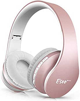 Esonstyle Over Ear Headset V5.0 with Microphone Bluetooth