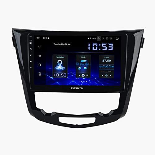 mächtig der welt Dasaita 10.2 ″ Android 9.0 Autoradio mit Bluetooth-Freisprechfunktion für Nissan Qashqai J11…