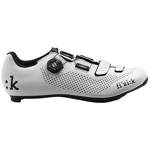 Fizik R4B Uomo BOA Carbon, White/Black, Size 46