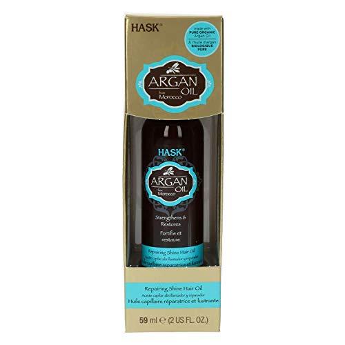 Hask Repairing Shine Hair Oil Argan Oil - 2 Oz