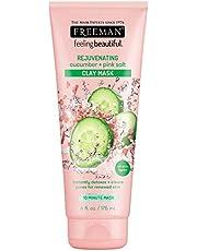 Freeman rejuvenating cucumber + pink salt Clay mask 6 oz (175 ml)