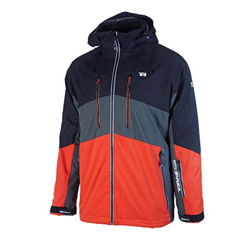 Rehall Connor-R Skijacke Herren orange/grau/schwarz - XL