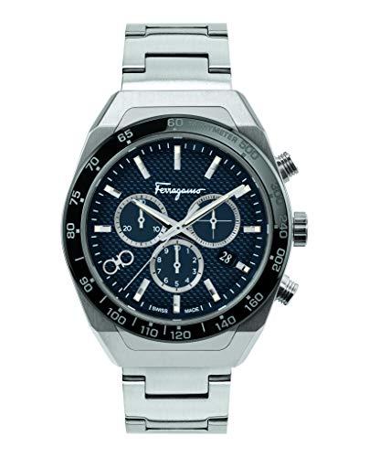 Salvatore Ferragamo Ferragamo SLX - Reloj de pulsera para hombre, 43 mm, SFHR00420