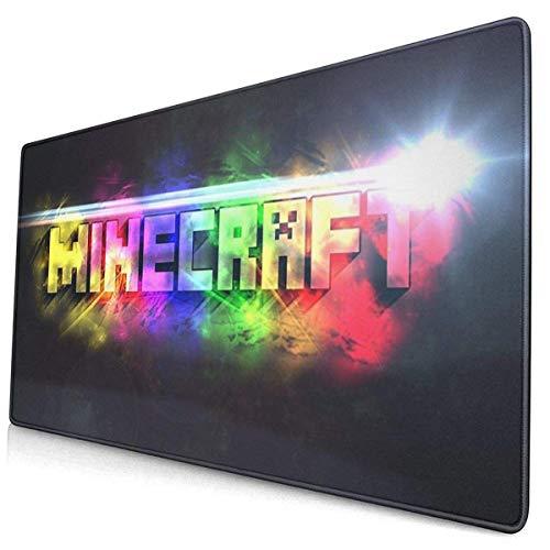 IUBBKI Mi.Ne-Craft Mauspad Großes Gaming-Mousepad Erweiterte Schreibtischmatte Ultradickes Mousepad für Office Gamer Home 29,5 'X15,8'