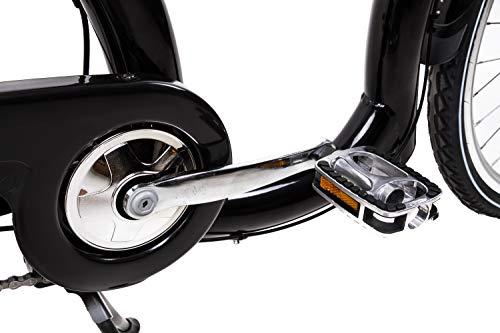 28 Zoll Alu Damen City Bike Easy Boarding Tiefeinstieg 7Gang Shimano Nabendynamo - 5