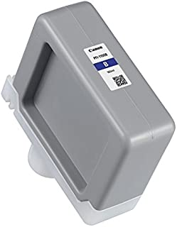 Canon PFI-1100 160ml Blue Pigment Ink Tank for imagePROGRAF PRO-2000 and PRO-4000 Large-Format Inkjet Printers