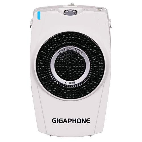 有線マイク 超小型 拡声器 GIGAPHONE G100S ポータブルボイスアンプ [30W] マイク付き