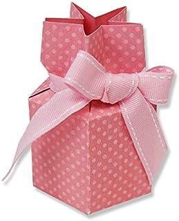 Sizzix Bigz - Troquel, Caja de regalo, multicolor, L, Surtido: Colores Aleatorios
