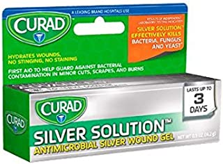 Curad Silver Solution™ Antimicrobial Gel