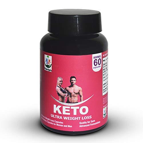 NUTRIPIX Keto Advanced Fat Burner Capsules 800 MG With Green Tea Green Coffee & Garcinia Cambogia Extract - 60 Count