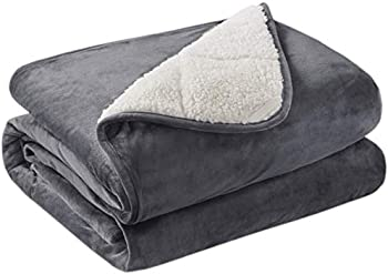 Degrees of Comfort Sherpa Weighted Blanket