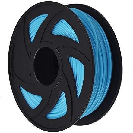 popular 3D Printer Filament - 1KG(2.2lb) 1.75mm / 3 mm, Dimensional Accuracy PLA Multiple new arrival Color wholesale (Luminous Blue,3mm) online sale