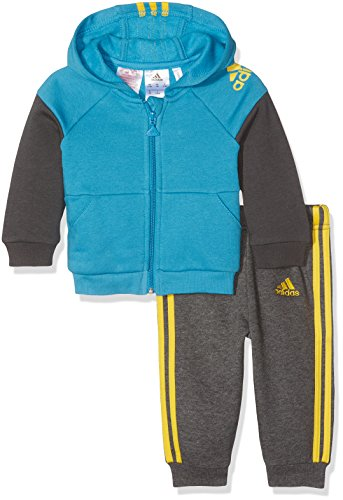 adidas I Sp Fz Hd Jogg Trainingsanzug für Kinder, Kinder, I Sp Fz Hd Jogg, 0-3 Meses