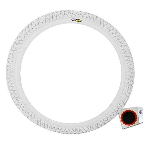 QU-AX Reifen Einrad 16x1.75 weiß 6046 Fahrrad