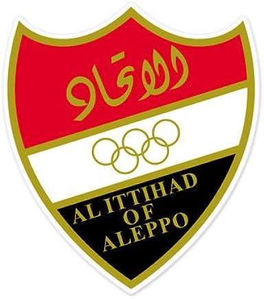 Al Ittihad Aleppo - Syria Football Soccer Futbol - Car Sticker - 5