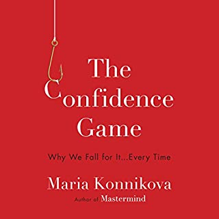 The Confidence Game audiobook cover art