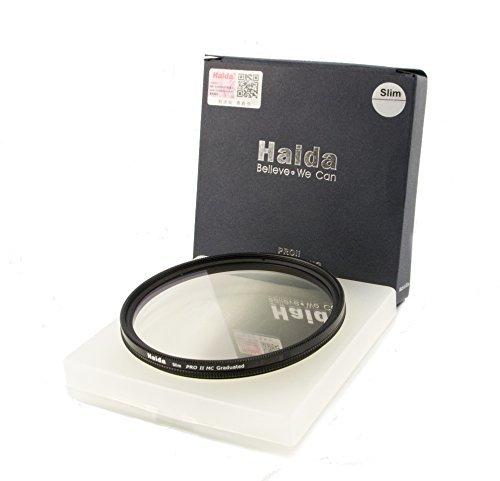 HAIDA Slim Pro II MC Optical GND Verlaufsfilter 0,9 (8X) (12,5{cd682ac0e56a3554f8f24259efe2676c30d6068bfdff460d55fbee59eea13a75}) - 67mm - inkl. Cap