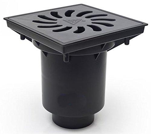 Hofablauf Gußeisenrost befahrbar Belastung bis 12500 kg 245x245 mm 328