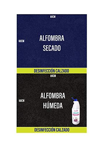 OBLITE Alfombra desinfectante + Limpiador Higienizante