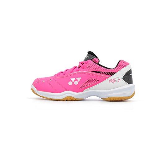 YONEX Power Cushion 65R 2 Damen Badmintonschuhe, Pink - rose - Größe: 39.5 EU
