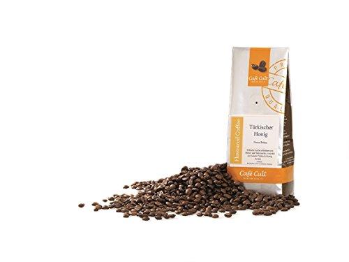 1kg - frischer Aroma-Röstkaffee - Café Cult - Türkischer Honig - ganze Bohnen