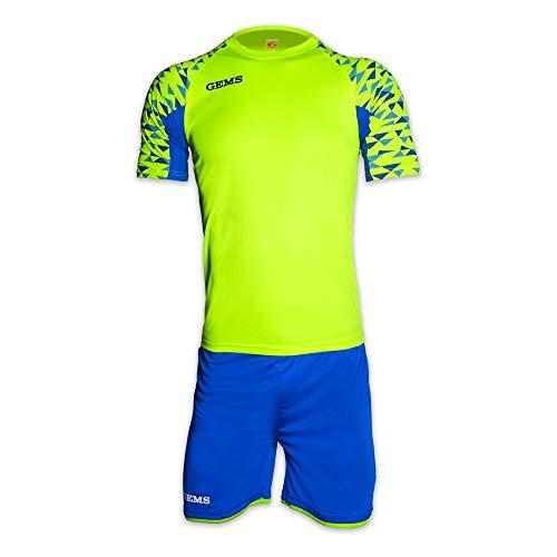 GEMS Kit Divisa West Ham Calcio Calcetto Maglietta Pantaloncino
