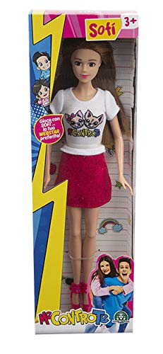 Giochi Preziosi - Me Contro Te - Sofì Gonna e T-shirt Bianca, Bambole Fashion Doll, MEC00200