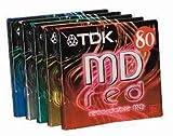 TDK MD 74 Minidisc 5PK (colour), [Importado de UK]