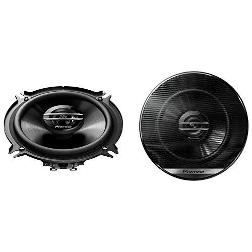 Pioneer TS-G1320F 2-Weg-Koaxiallautsprecher für Autos (250 W), 13 cm, kraftvoller Klang, IMPP-Membran für optimalen Bass, 35 W Eingangsnennleistung, 44.3 mm Einbautiefe, schwarz, 2 Lautsprecher
