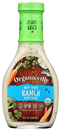 Organicville, Ranch Dressing, Organic, Dairy Free, Gluten Free, 8 oz