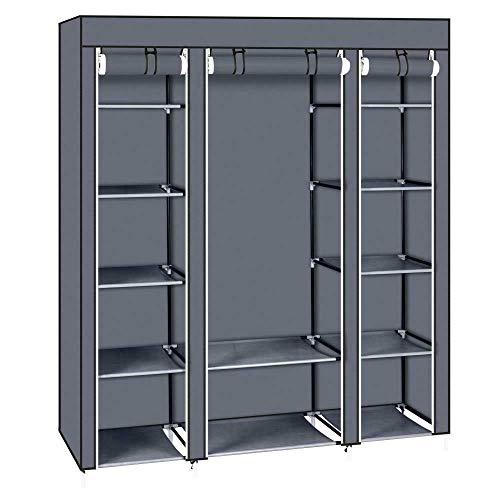 unbrandeds 69' Closet Wardrobe System Clothes Rack Storage Organizer Shelf