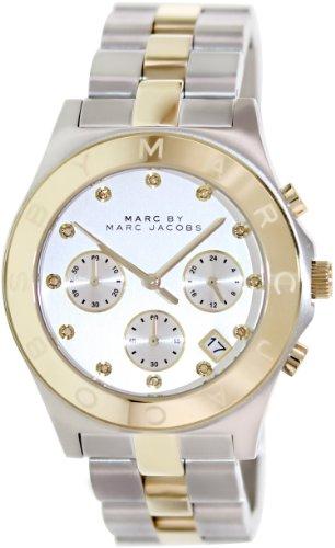 Marc by Marc Jacobs Reloj analogico para Mujer de Cuarzo con Correa en Acero Inoxidable MBM3177
