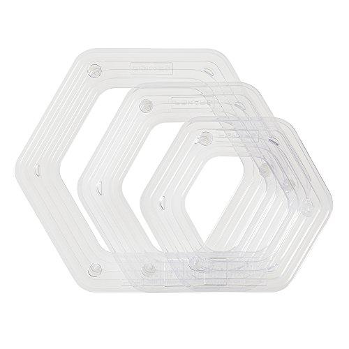 Fiskars 158190-1001 Shapexpress2 Template, Hexagon