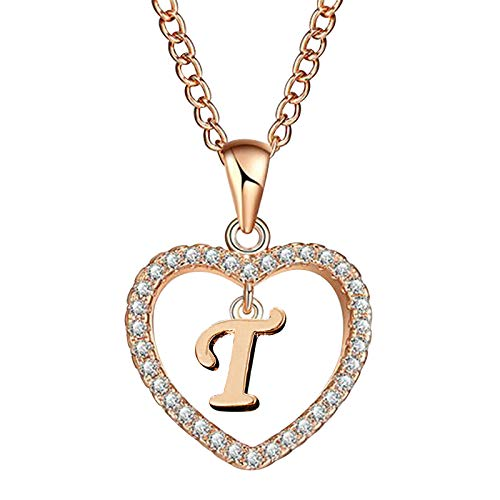 HINK Fashion Women Gift 26 English Letter Name Chain Pendant Necklaces Jewelry T Jewelry & Watches Earrings For Woman Easter Gift