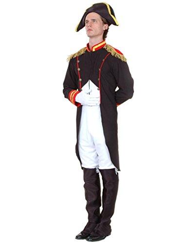 Generique - Napoleon-Kostüm für Herren XL