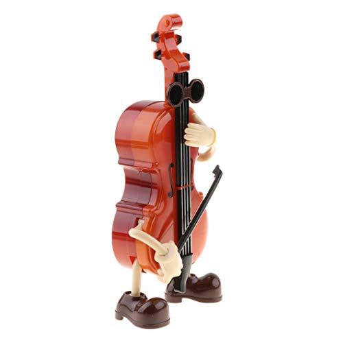SM SunniMix Boîte à Musique Violon - Wind Up Dancing Gentleman Doll Jouet Musical Craft Craft Gift