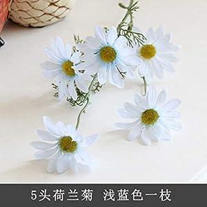 Changskj Artificial Flower Artificial Small Daisy Cosmos Artificial Flower Bud Flower Small Wild Chrysanthemum Fake Flower