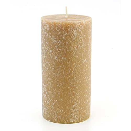Root Candles Unscented Timberline Pillar Candle, 3 x 6-Inches, Beeswax