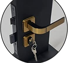 Fechadura Externa Roseta 40mm MGM Módena Bronze Latonado
