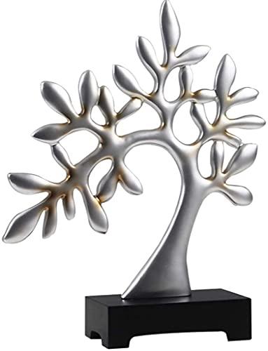 Rich Tree Escritorio Trinkets Sala Vino Enfriador Cortado Estantería Decoración Moda