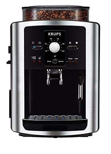 Krups Espresso Automatic EA8010, Negro, Plata, 1450 W, 245 x 330 x 365 mm - Máquina de café